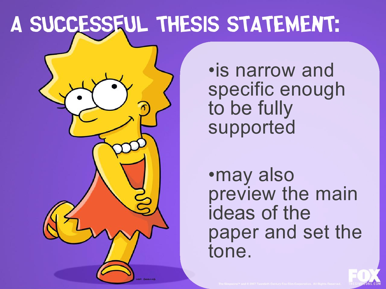 Writing Excellent Thesis Statements | WRTG 213 – Spring 2019
